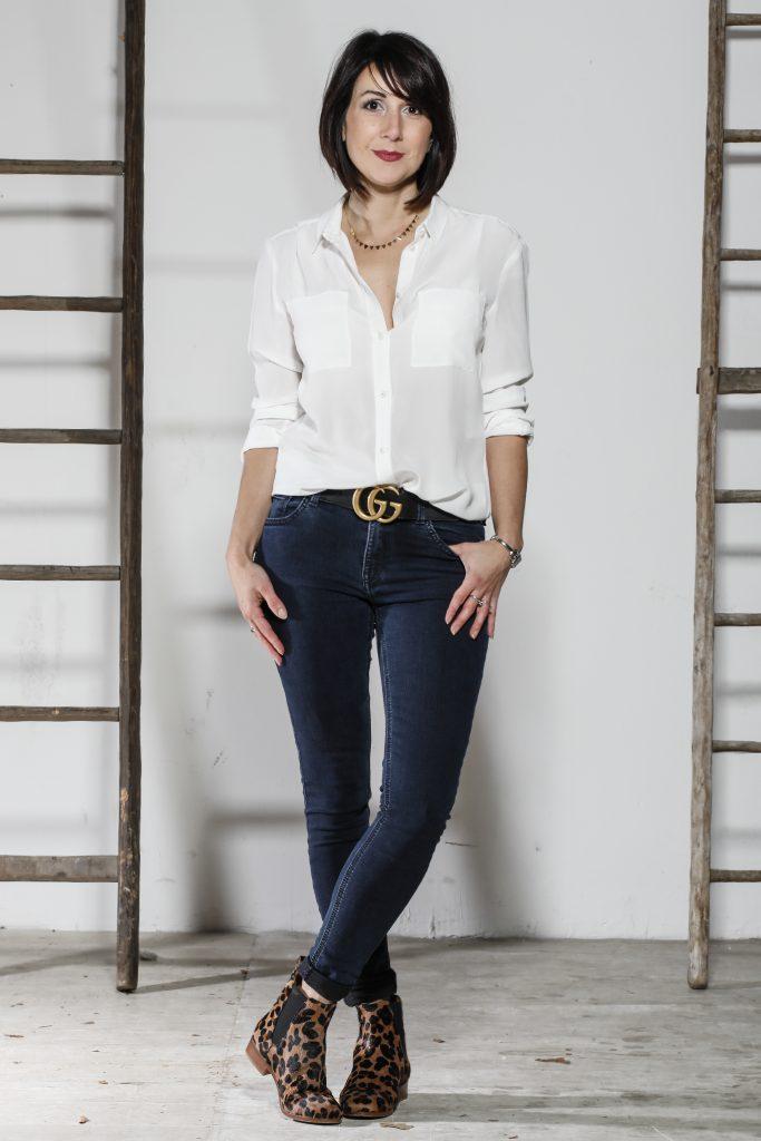 comment porter un jean brut, conseils style femme 40 ans