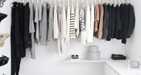 organisation d'un dressing