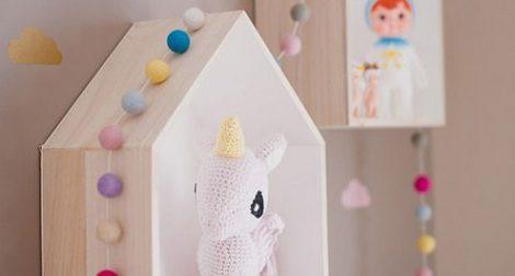 maisonnettes en bois chambre d'enfant