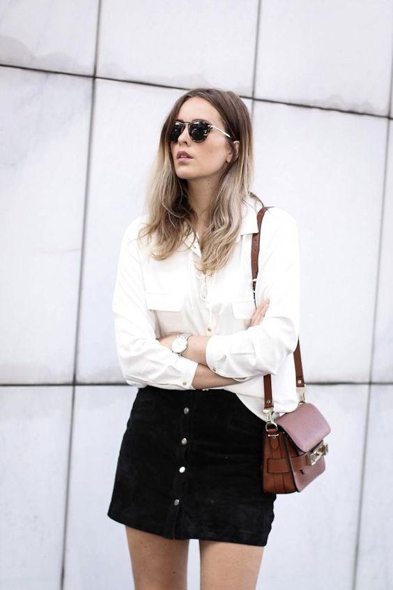 chemise blanche pour femme comment la choisir et la porter en 201. Black Bedroom Furniture Sets. Home Design Ideas