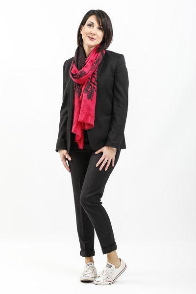Pantalon noir, blog mode