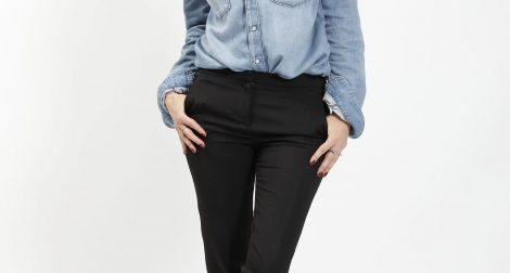Pantalon noir The Kooples, blog mode
