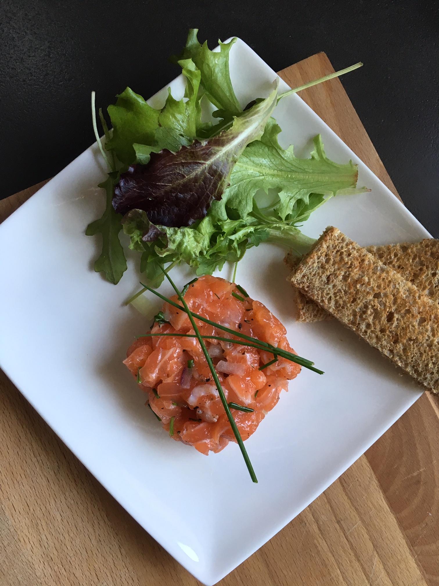 Recette de tartare de saumon délicieux