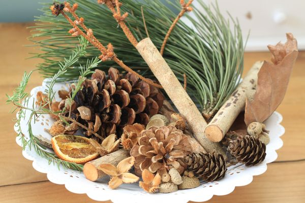 Pot pourri de Noël