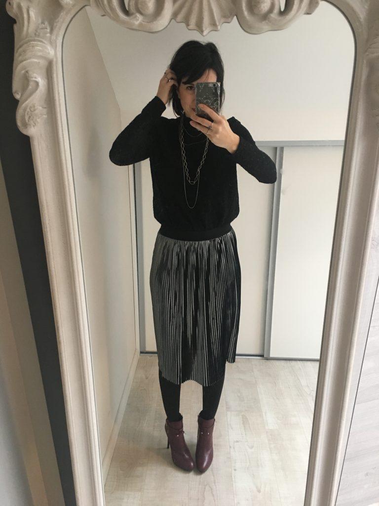 tenues de fêtes jupe