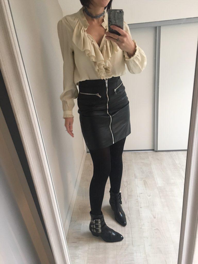 tenue de fête mini jupe