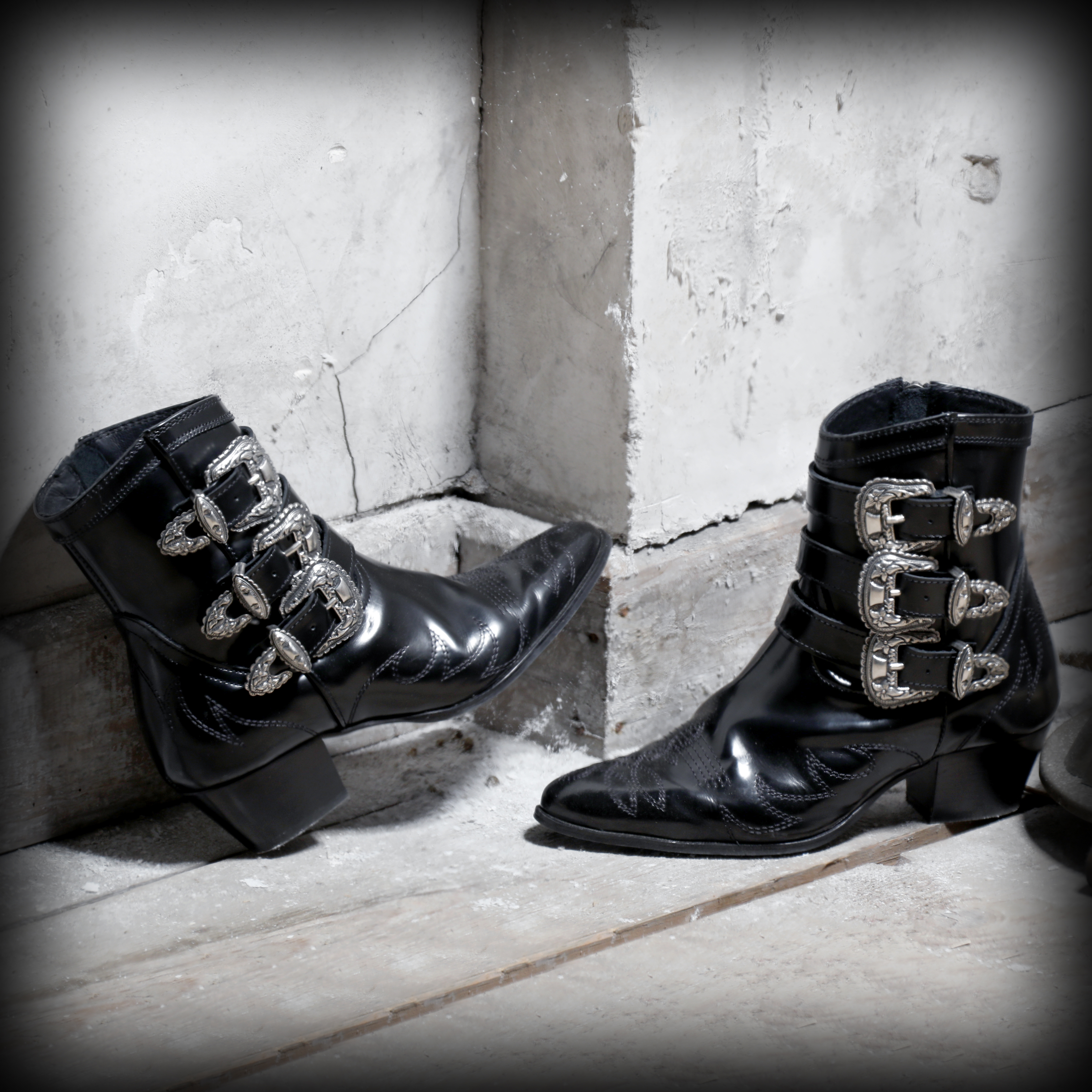 boots The Kooples blog mode