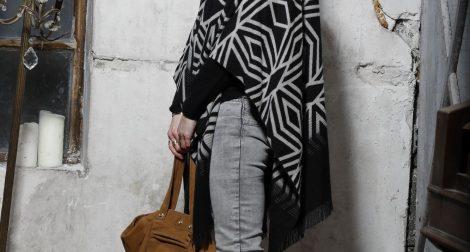 comment porter le poncho, blog mode