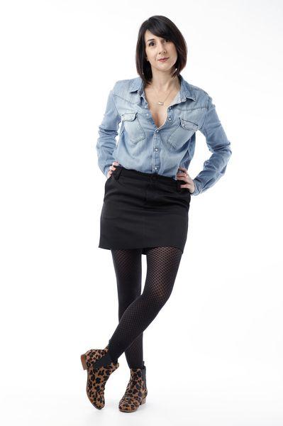 comment porter la mini-jupe blog mode