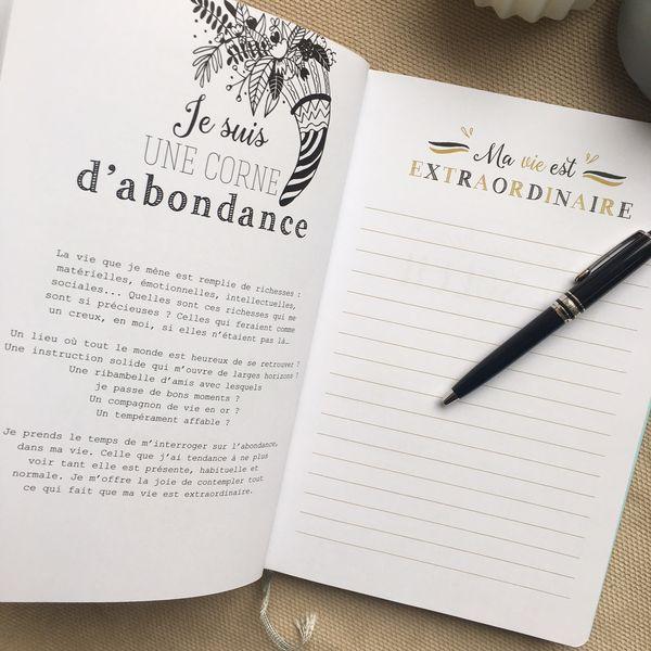 Mon carnet de gratitude par Anne-Solange Tardy