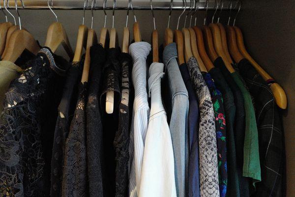 rangement des vêtements, blog mode