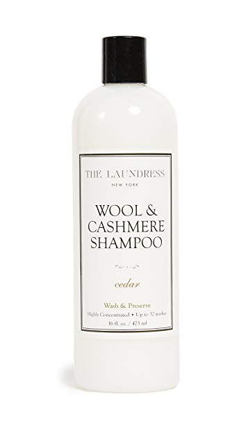 The Laundress Wool & Cashmere Shampoo, entretien du cachemire