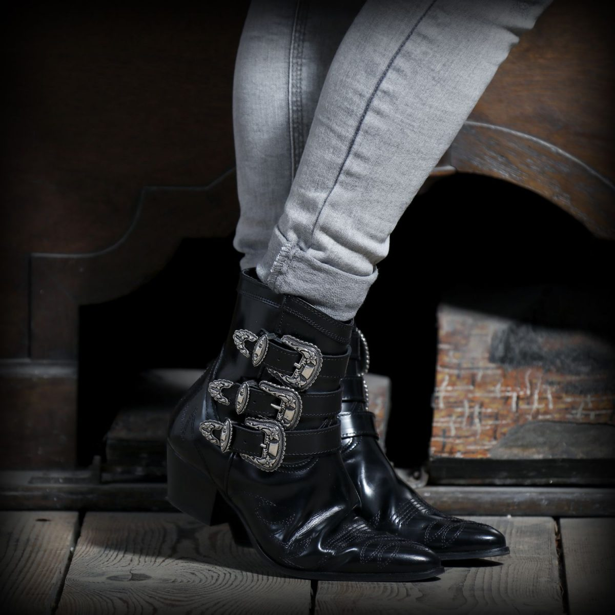Boots The Kooples, blog mode