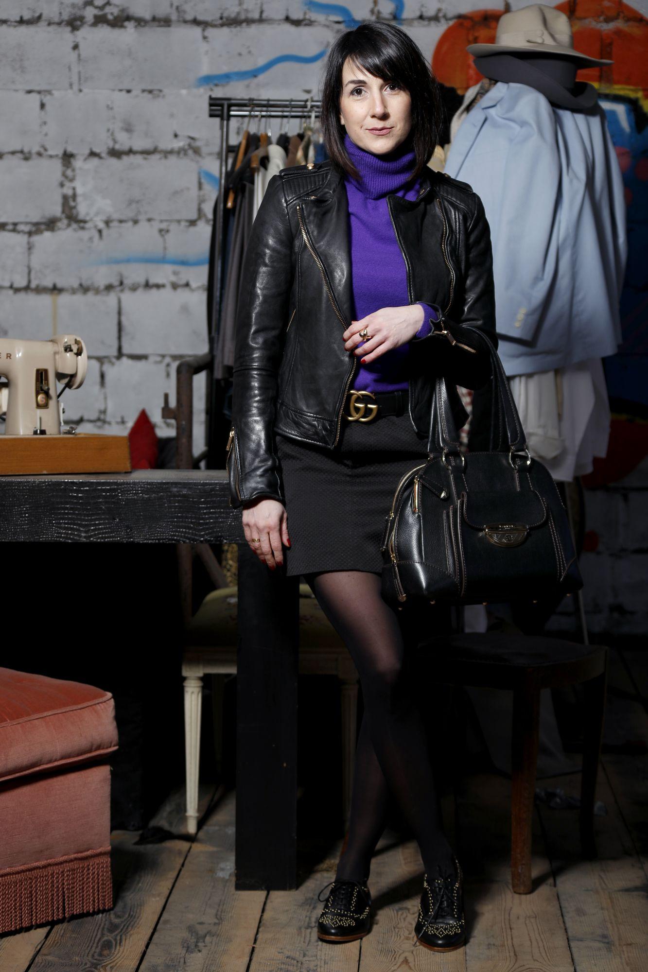 comment porter la mini-jupe en hiver