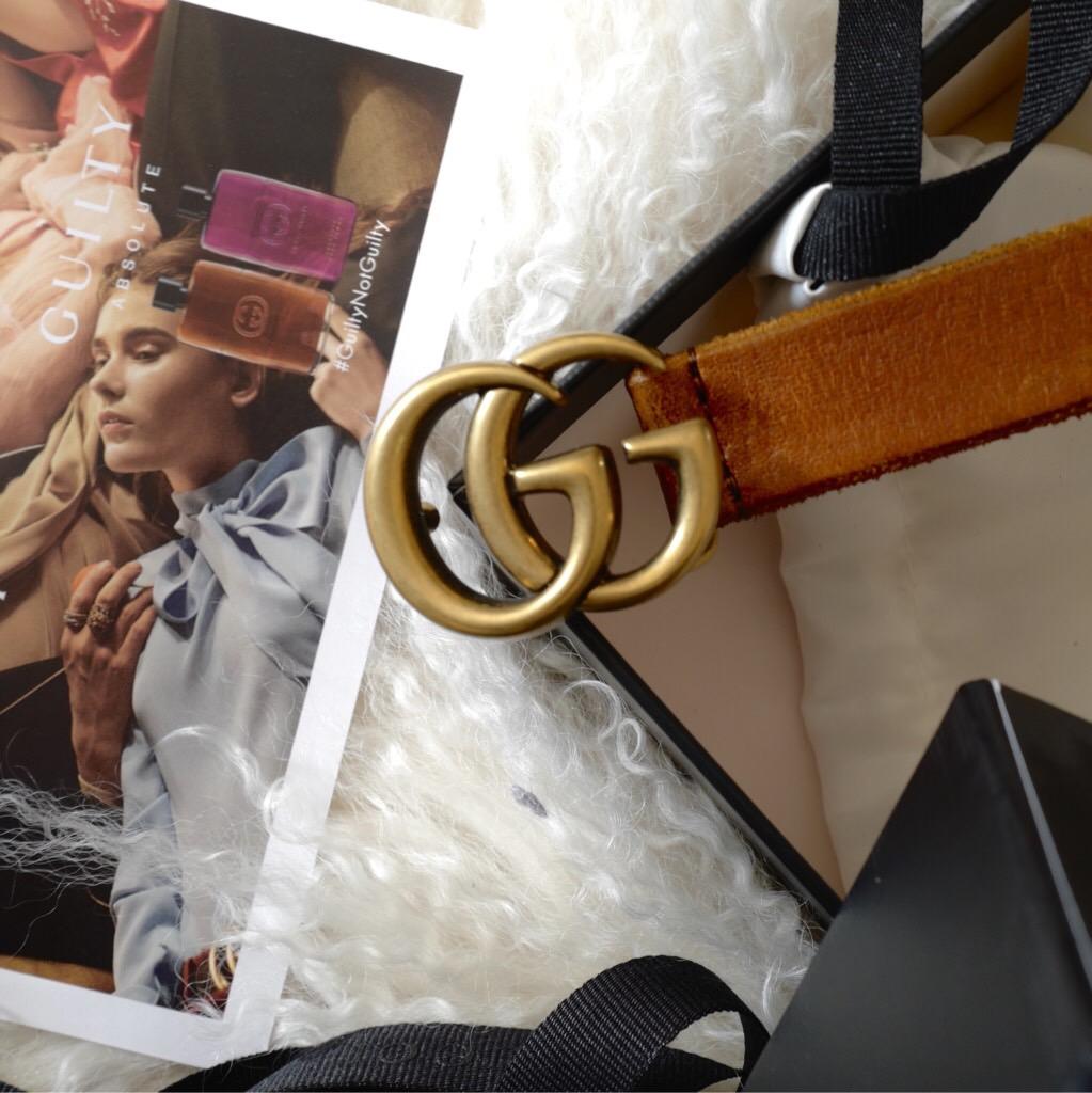 Ceinture Gucci blog mode