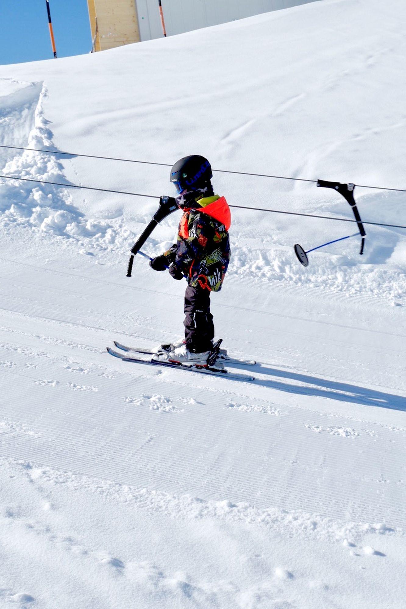 enfant skie